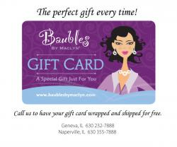 Baubles by Maclyn Gift Card