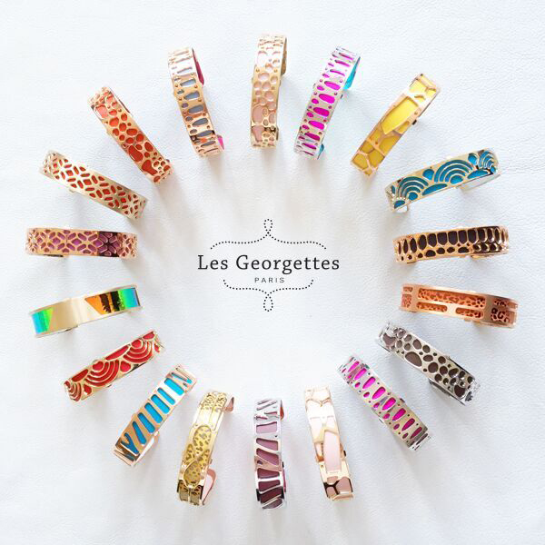 les georgettes interchangeable bracelets