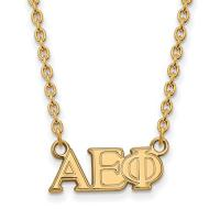View: Alpha Epsilon Phi Greek Letters Necklace
