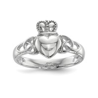 View: Celtic Knot Claddagh Ring